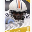 SHON COLEMAN 2016 Sage Hit Low #38 ROOKIE Auburn Tigers BROWNS