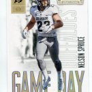 NELSON SPRUCE 2016 Panini Contenders Game Day #35 ROOKIE Colorado Buffalo