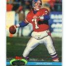 JOHN ELWAY 1991 Topps Stadium Club #294 Broncos STANFORD Cardinal QB