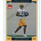 GREG JENNINGS 2006 Topps #369 ROOKIE Green Bay GB Packers