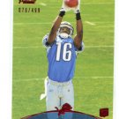 TITUS YOUNG 20011 Topps Prime RED SP #23 ROOKIE Boise State Broncos DETROIT LIONS #d/499