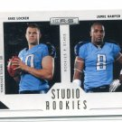JAKE LOCKER / JAMIE HARPER 2011 Panini R&S INSERT #7 ROOKIE Washington Huskies TITANS QB #d/500