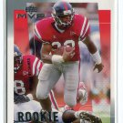 DEUCE McALLISTER 2001 Upper Deck UD MVP #295 ROOKIE Ole Miss Rebels SAINTS