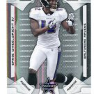 ERNIE WHEELWRIGHT 2008 Leaf R&S Longevity SP #137 ROOKIE Minnesota Golden Gophers RAVENS #d/99