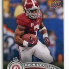 TRENT RICHARDSON 2012 Upper Deck UD Rookie Exclusives #RE-TR Alabama Crimson Tide
