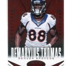 DeMARYIUS THOMAS 2014 Panini Certified Immortals Red Camouflage SP #30 Georgia Tech BRONCOS