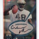 CUNCHO BROWN 1999 Collector's Edge CE Pro Signatures Authentic AUTO ROOKIE Penn State SAINTS A