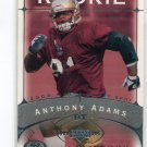 ANTHONY ADAMS 2003 Upper Deck UD Sweet Spot #165 ROOKIE Penn State BEARS 49ers #d/675