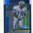 EDDIE DRUMMOND 2002 Bowman Chrome REFRACTOR #147 ROOKIE Penn State LIONS #d/500