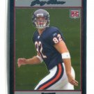 GREG OLSEN 2007 Bowman Chrome SILVER SP ROOKIE Miami Hurricanes BEARS Carolina Panthers #d/1079