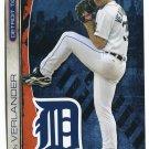 JUSTIN VERLANDER 2013 Fathead Tradeables 5x7 #54 Detroit Tigers