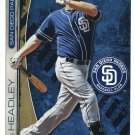 CHASE HEADLEY 2013 Fathead Tradeables 5x7 #43 PADRES New York NY Yankees