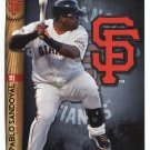PABLO SANDOVAL 2014 Fathead Tradeables 5x7 #75 San Francisco SF Giants