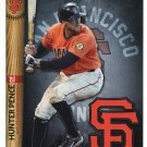 HUNTER PENCE 2014 Fathead Tradeables 5x7 #30 San Francisco SF Giants