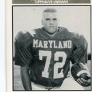 DAVID VERNIER 1992 Big 33 Maryland MD High School card OL