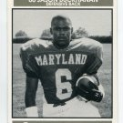 JASON BUCKHANAN 1992 Big 33 Maryland MD High School card DELAWARE STATE DB