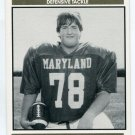 BILL KRUMPE 1992 Big 33 Maryland MD High School card FROSTBURG STATE DT