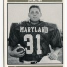 MATT LILLY 1992 Big 33 Maryland MD High School card RICHMOND LB