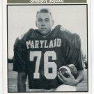 ALLEN SYRING 1992 Big 33 Maryland MD High School card OL