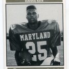 RICHARD SNOWDEN 1992 Big 33 Maryland MD High School card HUDSON VALLEY RB