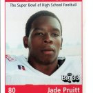JADE PRUITT 1999 Ohio OH Big 33 High School card INDIANA Hoosiers