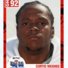 CURTIS McGHEE 2003 Ohio OH Big 33 High School card TENNESSEE Martin DL