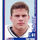 TOM PARKS 2002 Pennsylvania PA Big 33 High School card DELAWARE Blue Hens NORTH ALLEGHENY HS