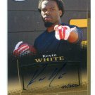 KEVIN WHITE 2015 Sage Hit GOLD AUTO #A105 ROOKIE Chicago Bears WEST VIRGINIA #d/250