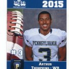 ARTHUR THOMPKINS 2015 Pennsylvania PA Big 33 High School card TOLEDO WR