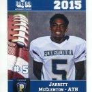 JERRETT McCLENTON 2015 Pennsylvania PA Big 33 High School card VILLANOVA