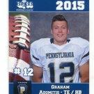 GRAHAM ADOMITIS 2015 Pennsylvania PA Big 33 High School card PITTSBURGH CENTRAL CATHOLIC HS