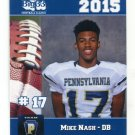 MIKE NASH 2015 Pennsylvania PA Big 33 High School card YOUNGSTOWN STATE DB