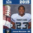 JORDAN MEACHUM 2015 Pennsylvania PA Big 33 High School card
