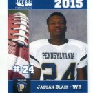 JAQUAN BLAIR 2015 Pennsylvania PA Big 33 High School card MAINE
