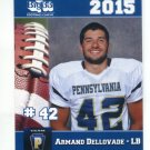 ARMAND DELLOVADE 2015 Pennsylvania PA Big 33 High School card YOUNGSTOWN STATE LB
