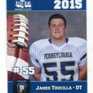 JAMES TRUCILLA 2015 Pennsylvania PA Big 33 High School card VIRGINIA Cavaliers DT
