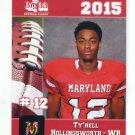 TY'RELL HOLLINGWORTH 2015 Maryland MD Big 33 High School card