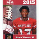 DEONTE' HARRIS 2015 Maryland MD Big 33 High School card