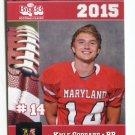 KYLE GODDARD 2015 Maryland MD Big 33 High School card OLD DOMINION RB