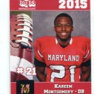 KAREEM MONTGOMERY 2015 Maryland MD Big 33 High School card LEHIGH