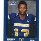 JAMEER BRYSON 2016 Pennsylvania PA Big 33 High School card SOUTH ALABAMA
