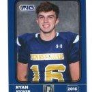 RYAN STOVER 2016 Pennsylvania PA Big 33 High School card TOWSON QB