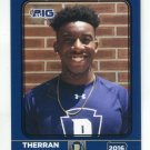 THERRAN COLEMAN 2016 Pennsylvania PA Big 33 High School card PITT Panthers WR