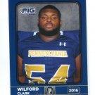 WILFORD CLARK 2016 Pennsylvania PA Big 33 High School card WOODLAND HILLS HS