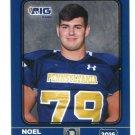 NOEL BROUSE 2016 Pennsylvania PA Big 33 High School card UCONN Huskies