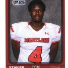 XZAVIER HINES 2016 Maryland MD  Big 33 High School card