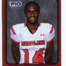 EMANUEL PATTERSON 2016 Maryland MD  Big 33 High School card MAINE