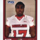 ALTON LACKS 2016 Maryland MD  Big 33 High School card