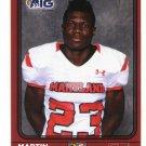 MARTIN FORAY Jr. 2016 Maryland MD  Big 33 High School card