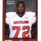 AARON BOSTON 2016 Maryland MD  Big 33 High School card